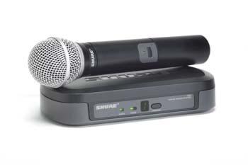 Alquiler micrófono inalámbrico de mano