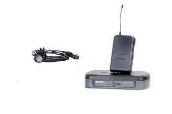 Alquiler micrófono inalámbrico de solapa